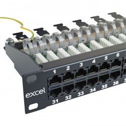 Patch panel telefonie 1U 50...